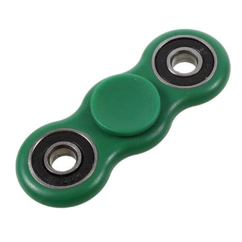 Fidget Spinner 2-Siipinen Muovi Vihreä