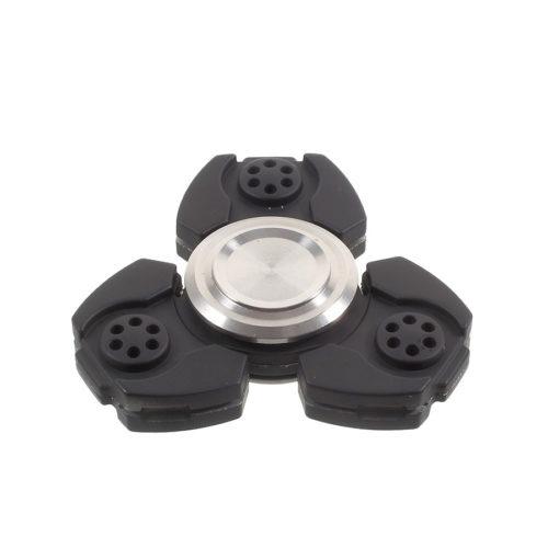 Fidget Spinner 3-siipinen Titaaniseos Musta