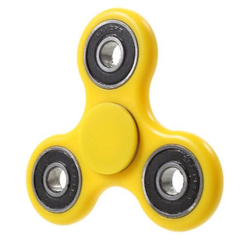 Fidget Spinner ABS-Muovi Keltainen