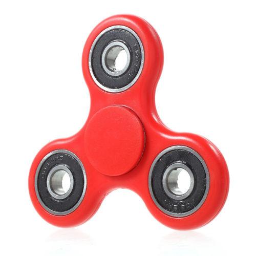 Fidget Spinner ABS-Muovi Punainen