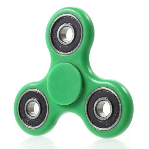 Fidget Spinner ABS-Muovi Vihreä