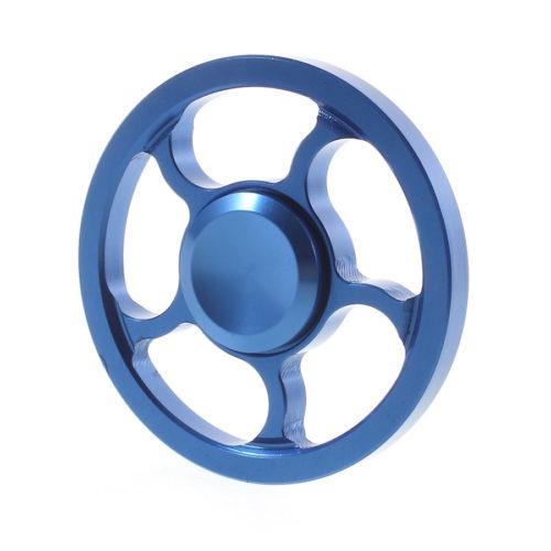 Fidget Spinner Pyörä Metalliseos Sininen