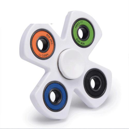 Fidget Spinner 4-Siipinen XOSOY Valkoinen/Värikäs